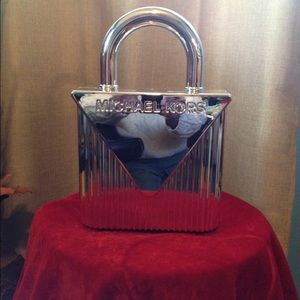 MK Brixton Baker Mercer Lock Metal Clutch
